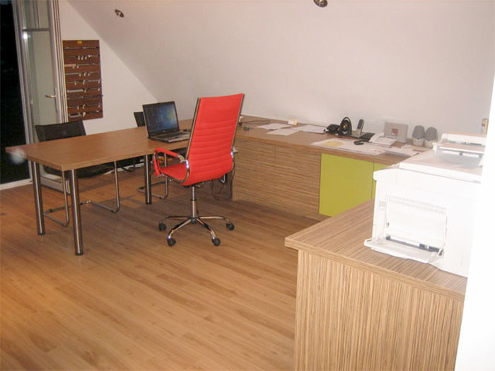 Schreibtisch U-Form