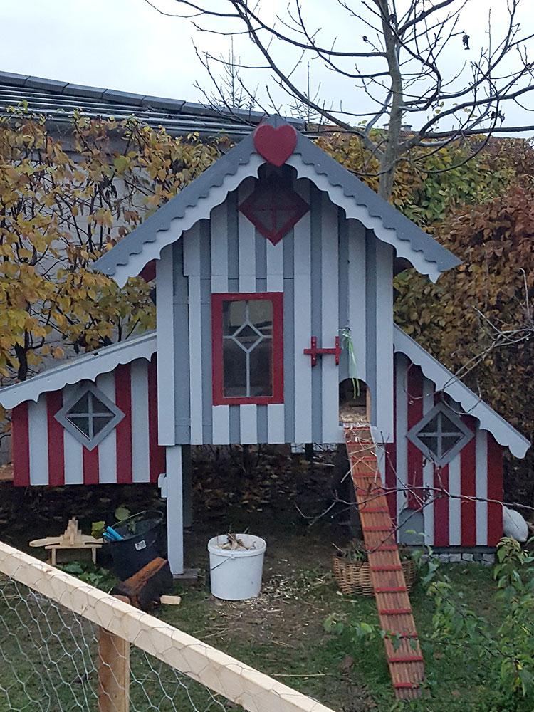 Sonderanfertigung Hühnerhaus