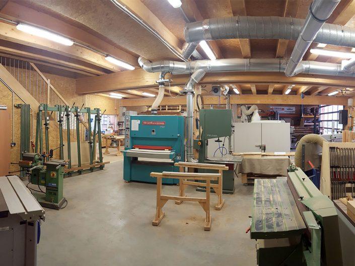 Schreinerei Widmann Werkstatt