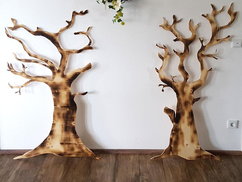 Dekoelement Bäume