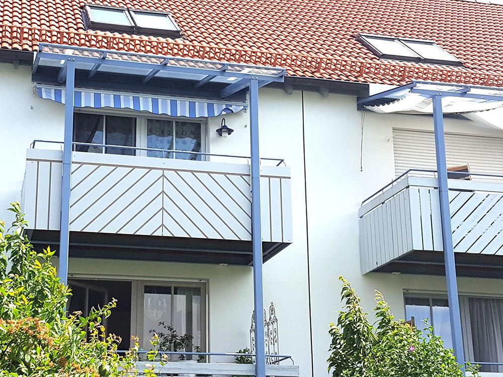 Balkone Holz