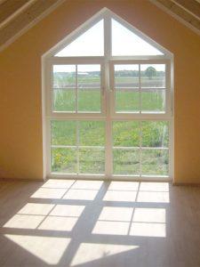 Einsetzen bodentiefes Doppelfenster, Bodenbelag