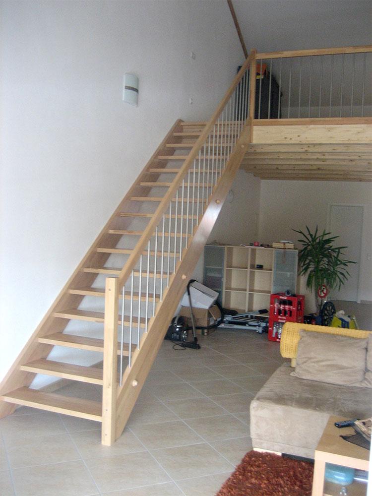 Dachausbau Treppenaufgang