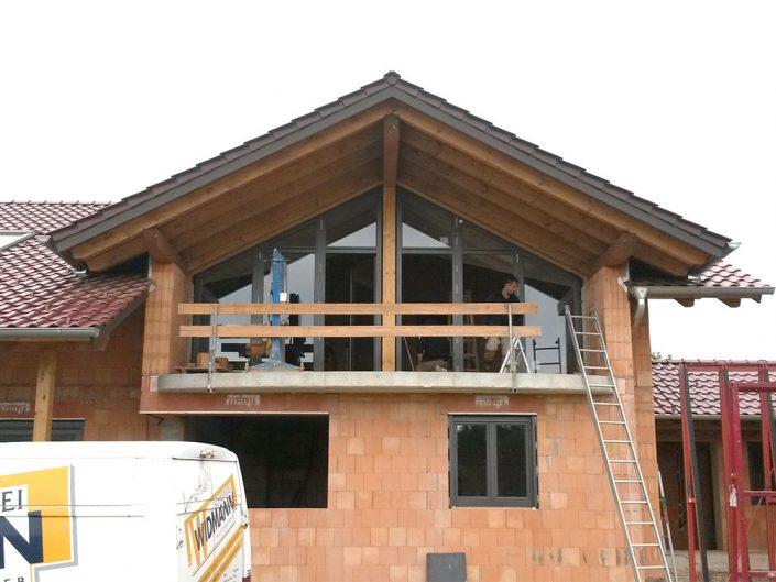 Vollverglasung Dachgeschoss