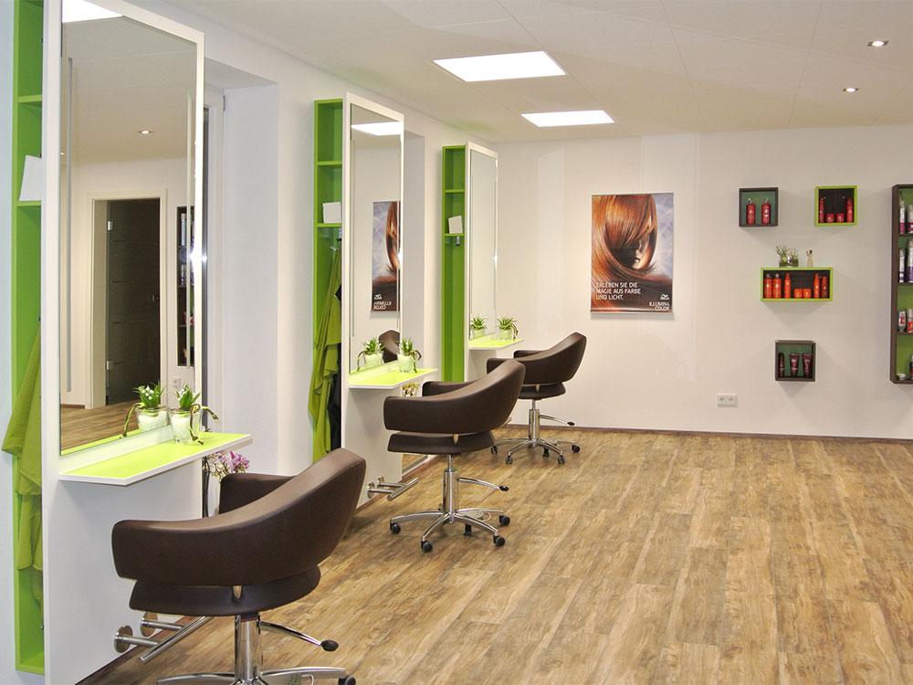 Kompletter Innenausbau Friseursalon