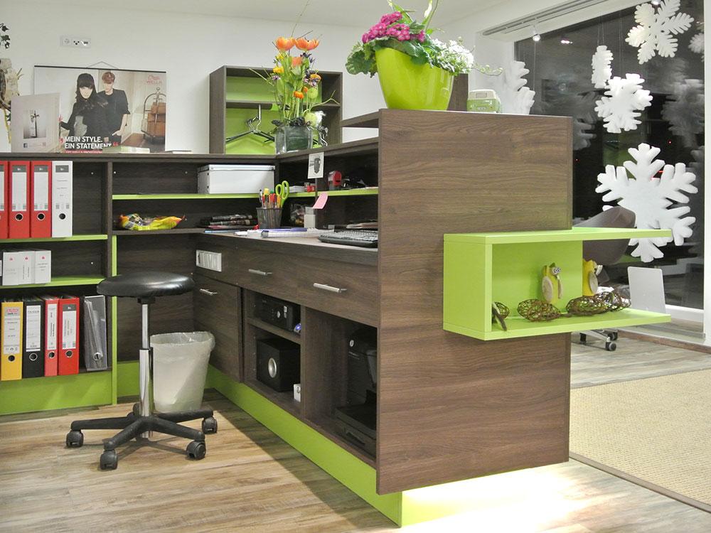 Schreibtisch/Theke