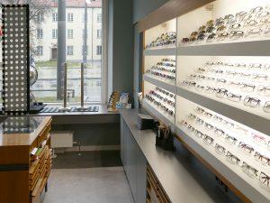 Inneneinrichtung Optiker
