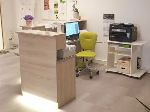 Physiotherapiepraxis Arbeitsplatz
