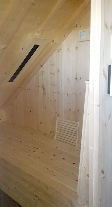 Saunabau vom Schreinermeister