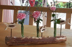 Blumenhalter Holz
